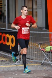 crossfirecoaching Athlet am Swiss City Marathon Luzern