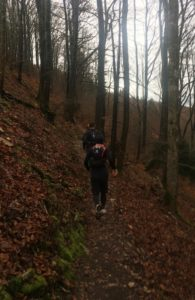 Trailrunn Wasserfluh 25.11. dem Regen trotzen, Meve be Happy crossfirecoaching