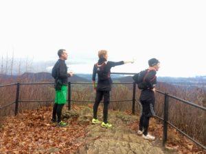 Trailrunn Wasserfluh 25.11. dem Regen trotzen, Meve be Happy crossfirecoaching, Aussicht von oben