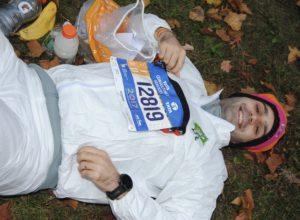New York City Marathon Sven Wiedmer, Trainingsplanung durch crossfirecoaching, Bild Startbereich