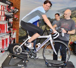 Bikefitting Schmid Velosport, Swiss Duathlon Rookies, Conny Schmid