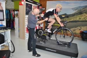 Bikefitting Schmid Velosport, Swiss Duathlon Rookies, Ines Hochuli