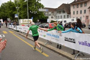Aargau Marathon, Zieleinlauf, Hugo Fischer