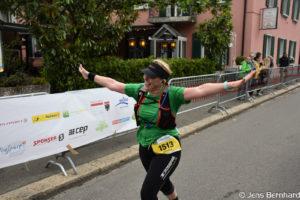Aargau Marathon, Zieleinlauf, Manuela Fischer