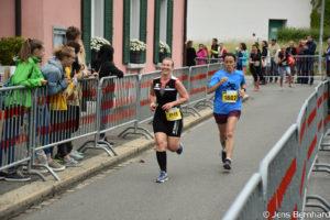 Aargau Marathon, Zieleinlauf, Sonja Wyss