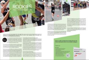 Inserat Duathlete 2018, Rookie Projekt 2017