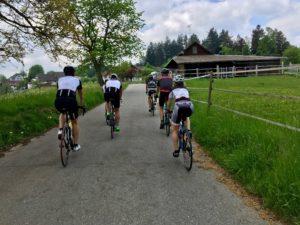Rennveloausfahrt, crossfirecoaching Kanton Aargau, Mai 2018
