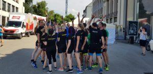 crossfirecoaching, aarau Altstadtlauf 2018 Gruppenfoto von allen