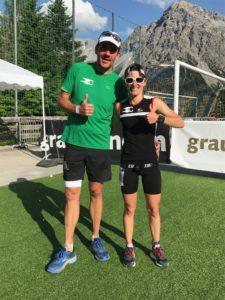 crossfirecoaching, Gigathlon 2018, Ziel Matthias, Nadine