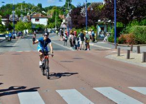 crossfirecoaching, Ironman Vichy, Rad erste Runde Nadine z.