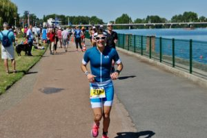 crossfirecoaching, Ironman Vichy, erster Lauf Nadine Z.