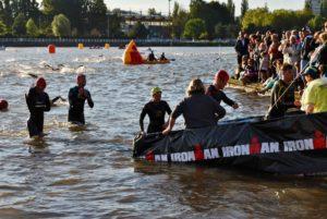 crossfirecoaching, Ironman Vichy,Schwimmen Fertig Nadine Z.
